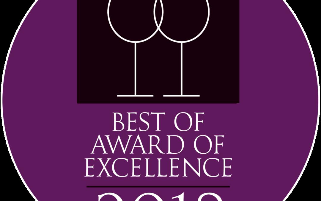 2018 Wine Spectator Award